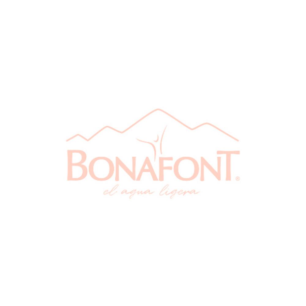 Bonafont® agua natural, pack de 6 botellas de 600 ml c/u
